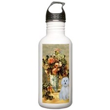 Vase - Maltese (B) Water Bottle