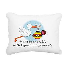 stork baby uganda 2 Rectangular Canvas Pillow