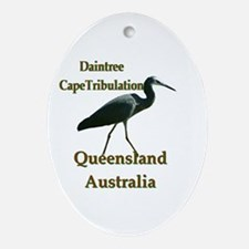 The Daintree Oval Ornament