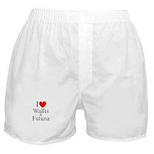 """""""I Love Wallis & Futuna"""" Boxer Shorts"""