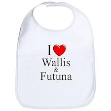"""""""I Love Wallis & Futuna"""" Bib"""