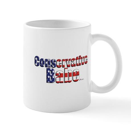 Conservative Babe #2 Mug