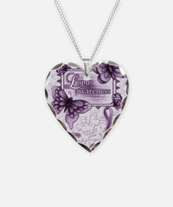 Lupus Awareness Necklace