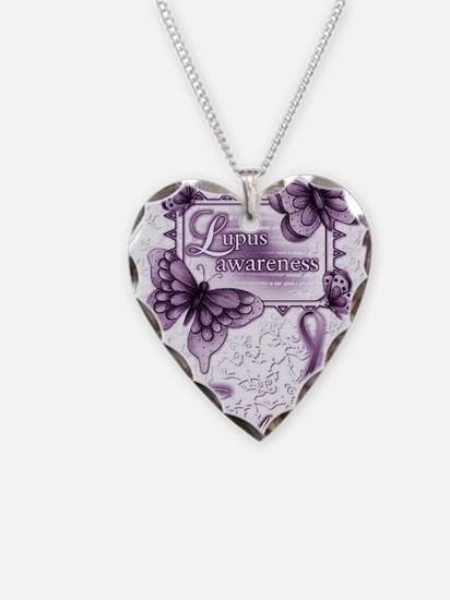 Lupus Awareness Necklace