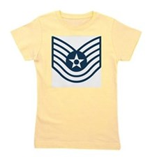 USAF-TSgt-Blue-Four-Inches Girl's Tee