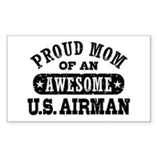 Proud Mom of an Awesome US Airman Decal