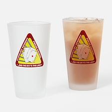 T0100B-StarfleetAcademyPoker-2000x2 Drinking Glass