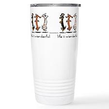 Cute Dog dachund Travel Mug