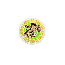 2-MONKEY Mini Button