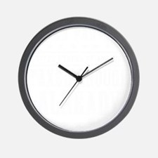 march_taxed_enough_already_white Wall Clock