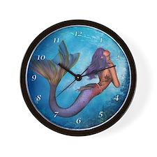 mermaidclockC Wall Clock