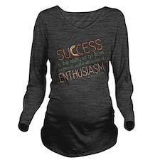success3 Long Sleeve Maternity T-Shirt