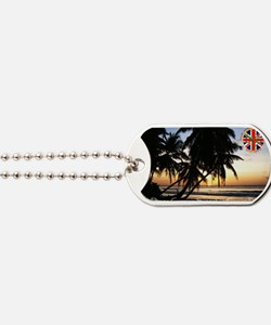 Postcard-sunset-v1.gif Dog Tags