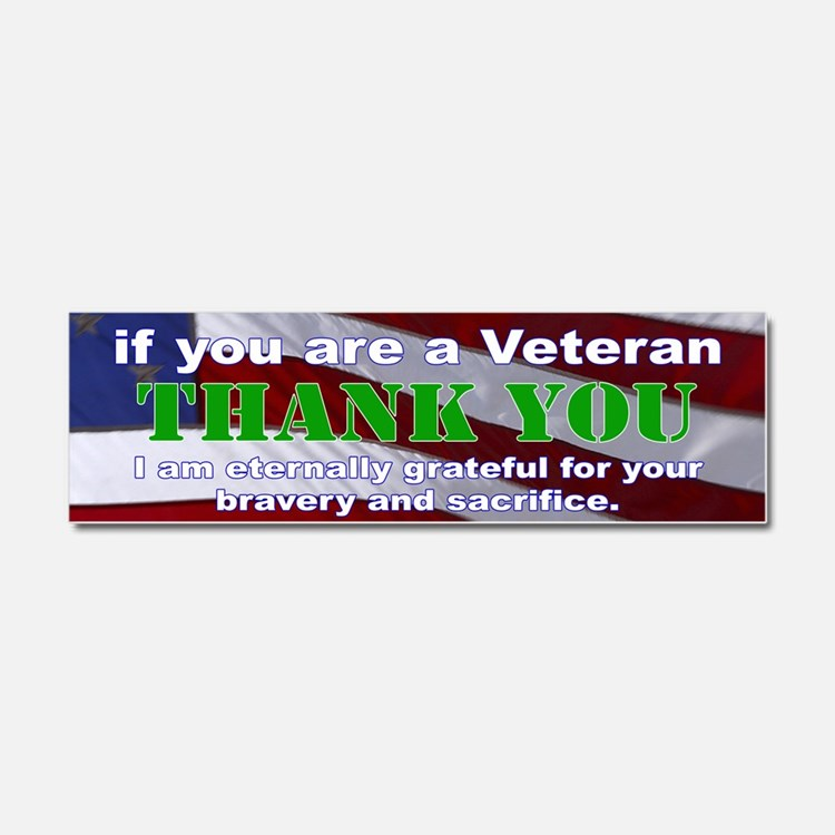 if you are a Veteran Car Magnet 10 x 3