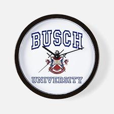 BUSCH University Wall Clock