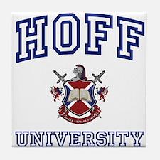 HOFF University Tile Coaster