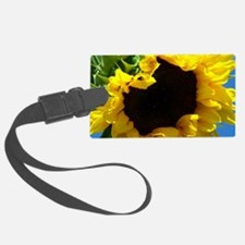 Sunflower pillow Luggage Tag