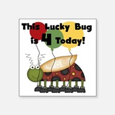 "luckybu4day Square Sticker 3"" x 3"""