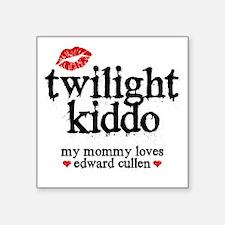 """Twilight Kid Square Sticker 3"""" x 3"""""""