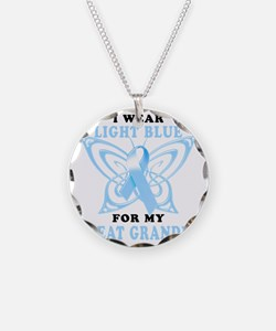 I Wear Light Blue for my Gre Necklace