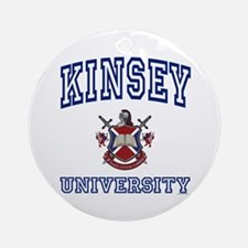 KINSEY University Ornament (Round)