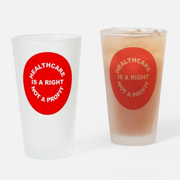 2-NOT A PROFIT FOR DENIM SHIRT Drinking Glass