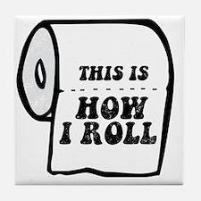 TP Roll Tile Coaster