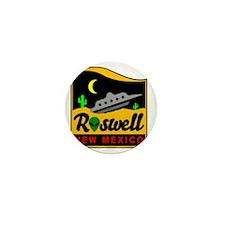 Roswell Mini Button