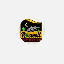 Roswell Mini Button