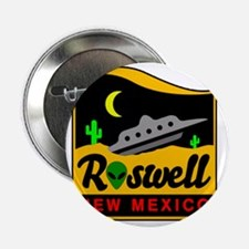 "Roswell 2.25"" Button"