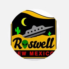 "Roswell 3.5"" Button"