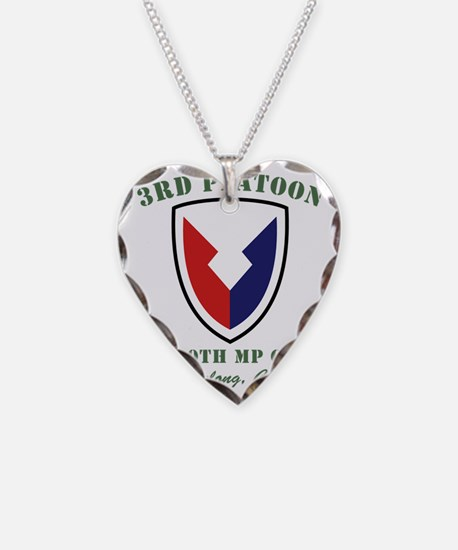 2-3rdgreenfront Necklace Heart Charm