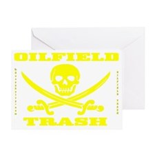 Skull Trash use cc A4 using Yelow Ts Greeting Card