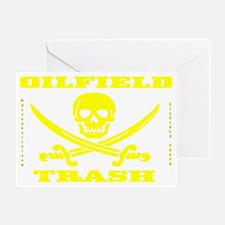 Skull Trash use cc A4 using Yelow Ts Greeting Card