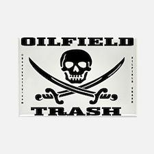 Skull Trash use dd A4 using Bcgd  Rectangle Magnet