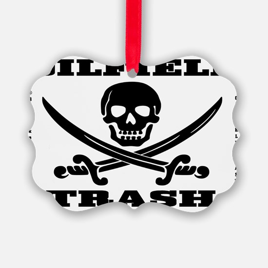 Skull Trash use dd A4 using Bcgd  Ornament