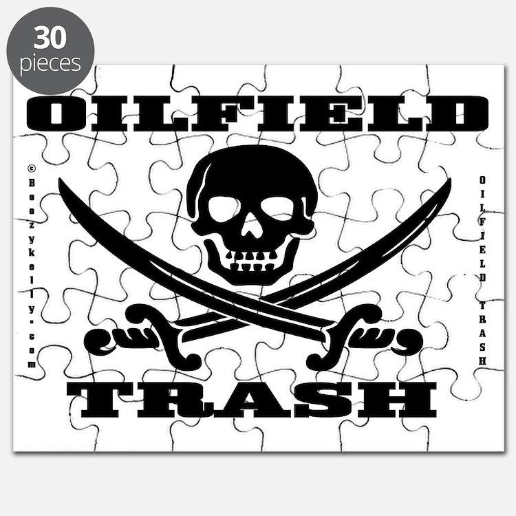 Skull Trash use dd A4 using Bcgd Clr Puzzle