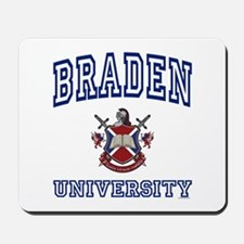 BRADEN University Mousepad