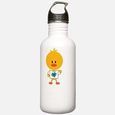 AutismChickDkT Water Bottle