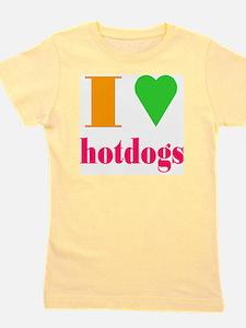hotdogs Girl's Tee