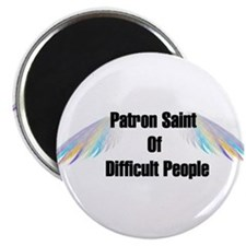 Patron Saint Difficult People Magnet