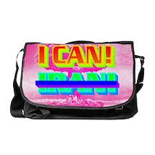 I CANxIRAN(oval landscape) Messenger Bag