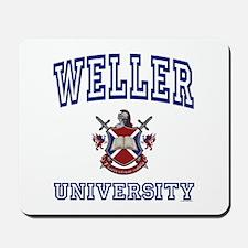 WELLER University Mousepad