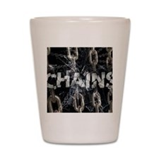 april_chains Shot Glass