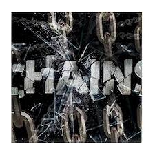 april_chains Tile Coaster