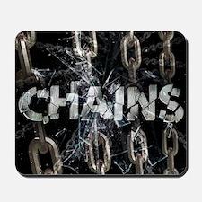 april_chains Mousepad