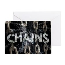 april_chains Greeting Card