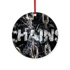 april_chains Round Ornament