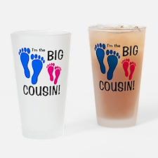 imthebigcousin_bluefeet_pinkfeet Drinking Glass