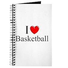 """""""I Love (Heart) Basketball"""" Journal"""